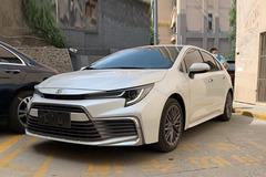 新车首提 雷凌外观凯美瑞动力还优惠1.8万 凌尚提车分享