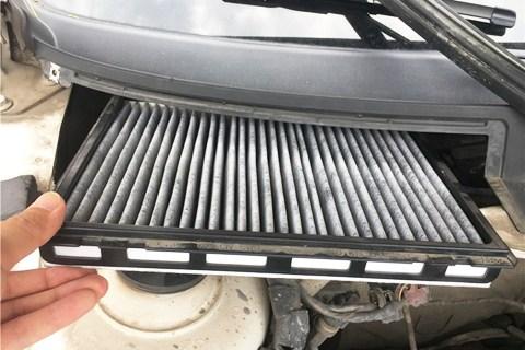绿色驾驶,朗行更换PM2.5活性炭空调滤芯