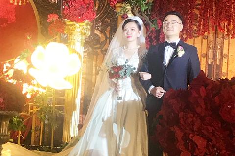 参加朋友婚礼~祝福