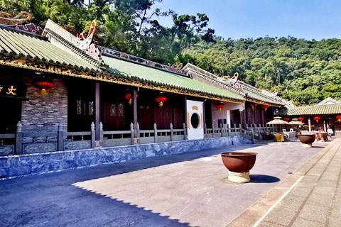漫步肇庆鼎湖山的庆云寺,记录神奇的魅力