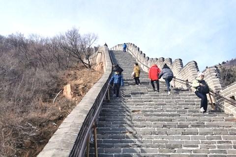 冬日游北京之三:不到长城非好汉!