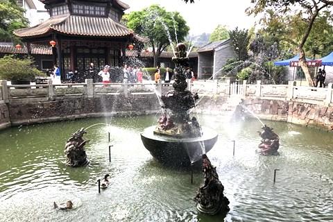 广东顺德清晖园游记