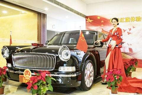 红旗L5,豪华礼宾国车外观多图美赏