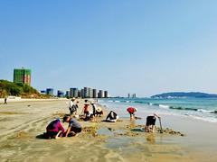 【春节花式宅】在广东惠州十里银滩过年的点点滴滴