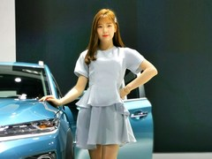 【笑舞狂歌】广州车展系列之看讴歌和现代(有小姐姐)