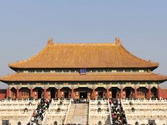 【易起鲨向未来】冬日游北京之五:现存世界最大宫殿建筑故宫游。