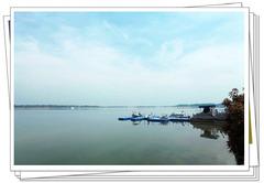 【超视角】豫东有处龙泽湖,水天一色美如画