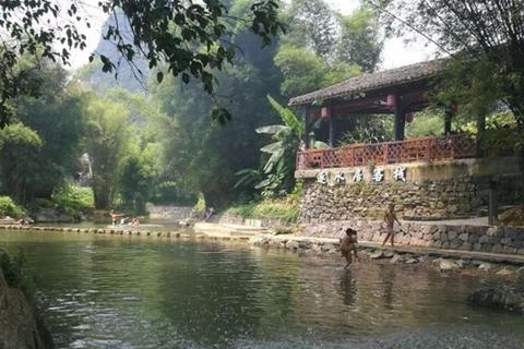 和车友自驾游我的家乡清新古朴的黄姚古镇