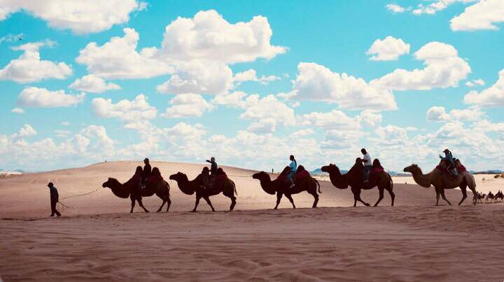 来一次沙漠自驾穿越之旅!