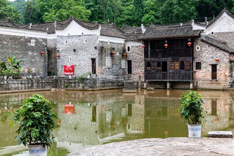 藏匿于深山中的古院,历史文化之村龙家大院