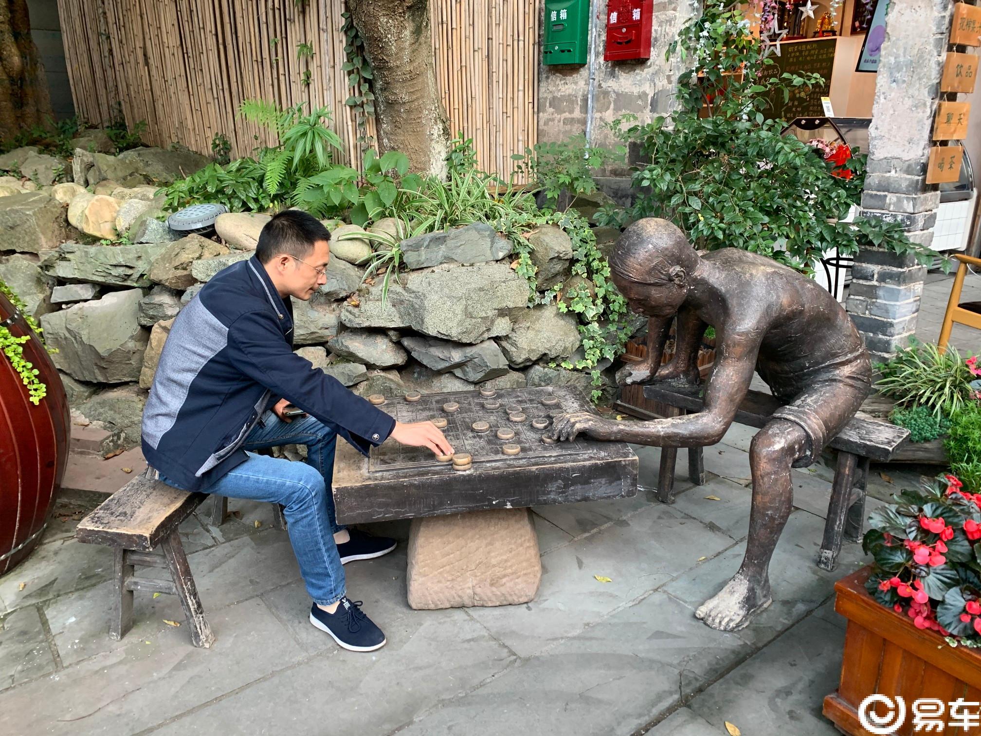 【木头系列】【车友同游】之——漫步安仁古镇。
