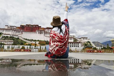 一路坎坷却惊喜不断,自驾游向住已久的西藏拉萨