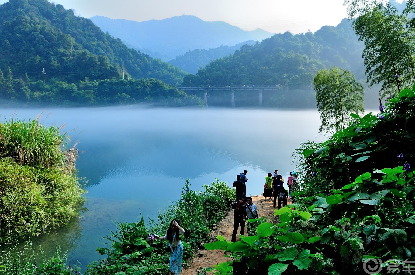 【仙境东江湖,雾漫小东江】