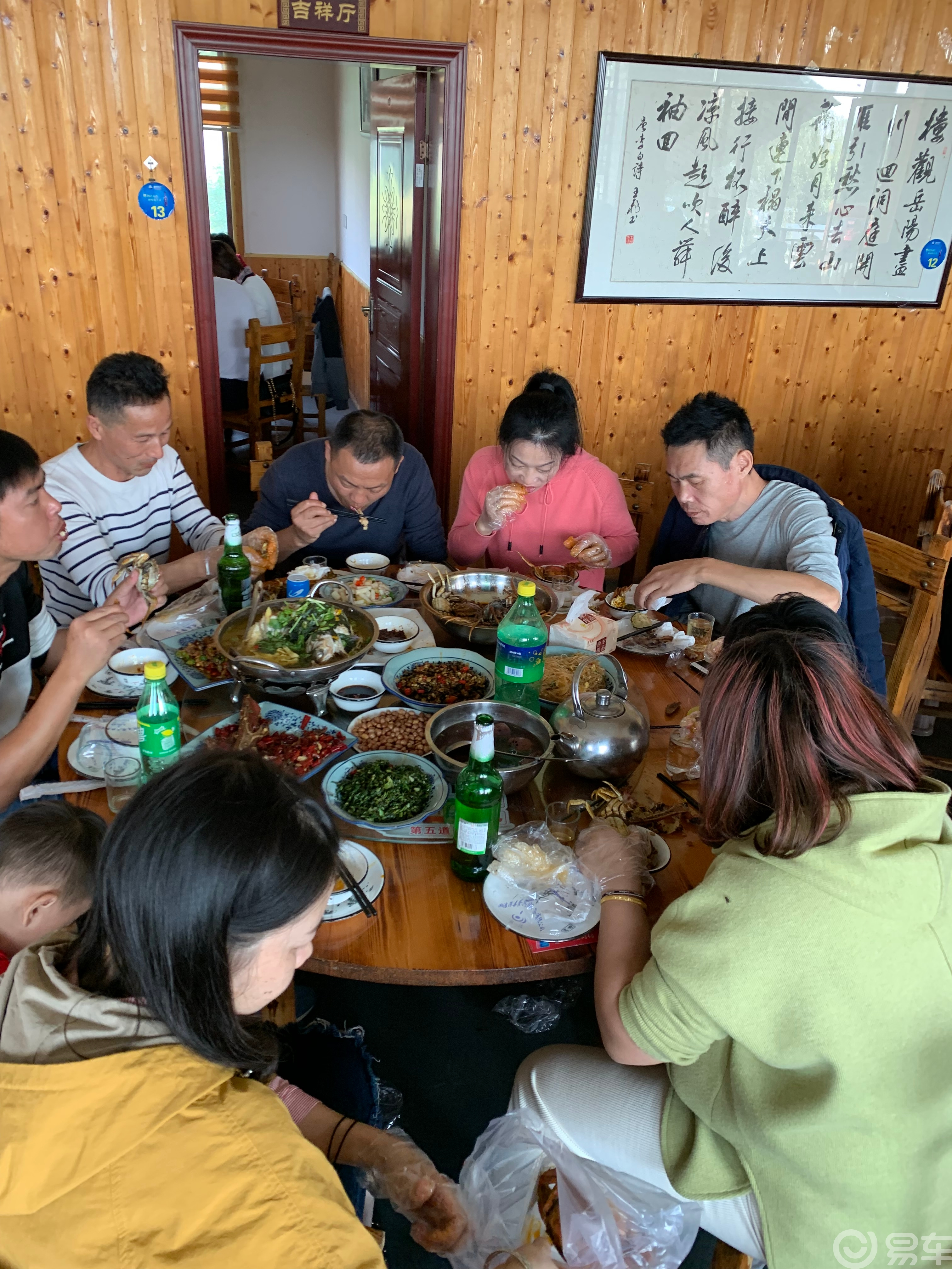 【易车湖南车友会】湘阴恰螃蟹自驾游活动报导