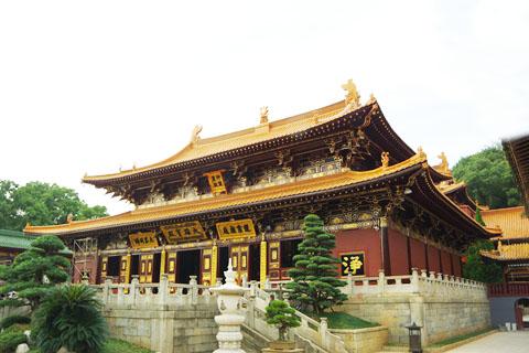 中国人的烧香拜佛从这里开始,东林寺游记