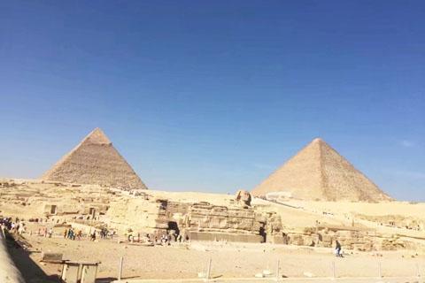 """三大""""女神""""探索神秘的古埃及🇪🇬"""